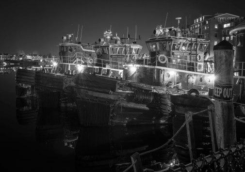 Portsmouth Harbor Tug Boats, 2.14.2018